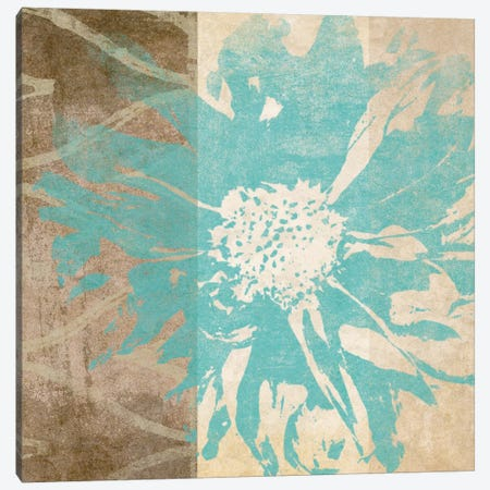 Flower Flake I Canvas Print #LON124} by Alonzo Saunders Canvas Artwork