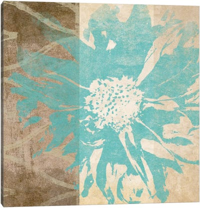 Flower Flake I Canvas Art Print