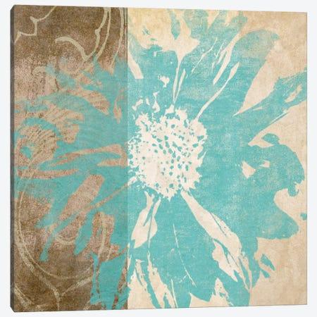 Flower Flake II Canvas Print #LON125} by Alonzo Saunders Canvas Wall Art