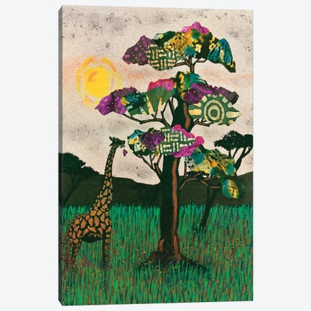 Planes of Africa II 3-Piece Canvas #LON131} by Alonzo Saunders Canvas Wall Art