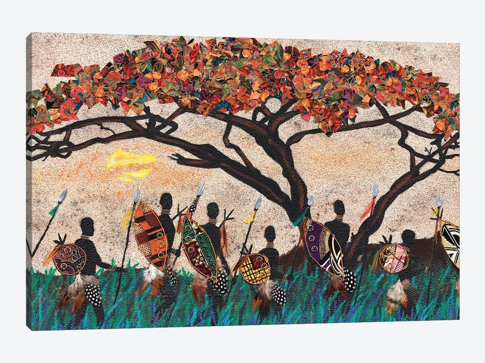 Planes of Africa III by Alonzo Saunders 1-piece Art Print