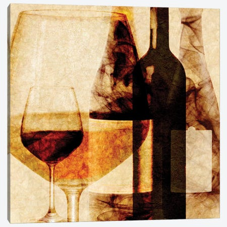 Smokey Wine I Canvas Print #LON133} by Alonzo Saunders Canvas Art