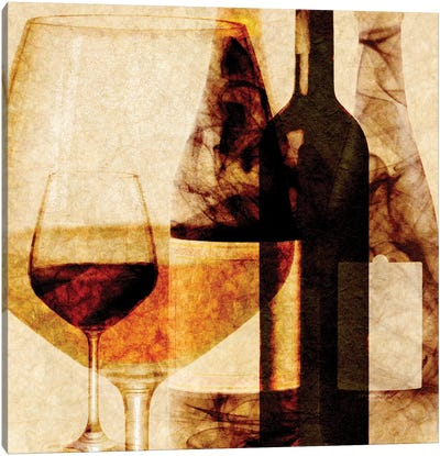 Smokey Wine I Canvas Art Print