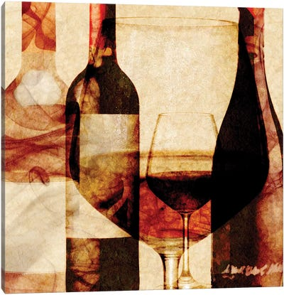 Smokey Wine II Canvas Art Print