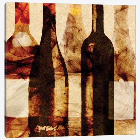 Smokey Wine III Canvas Print #LON135} by Alonzo Saunders Art Print