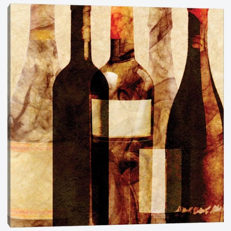 Smokey Wine IV Canvas Print #LON136} by Alonzo Saunders Art Print