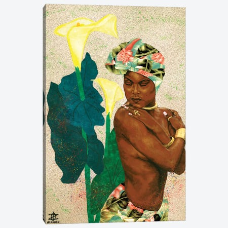 Woman Strong II Canvas Print #LON138} by Alonzo Saunders Canvas Wall Art