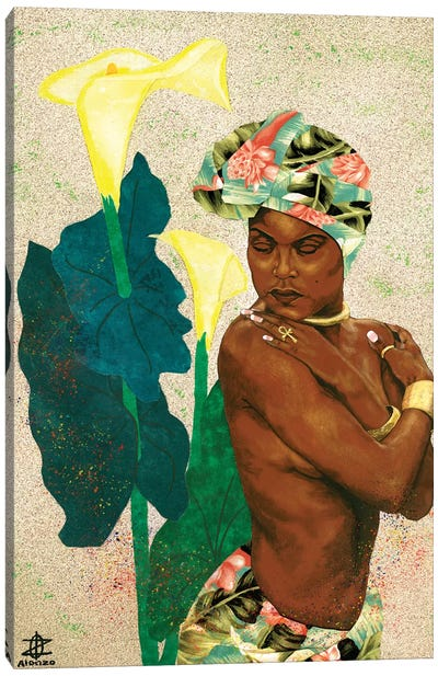 Woman Strong II Canvas Art Print
