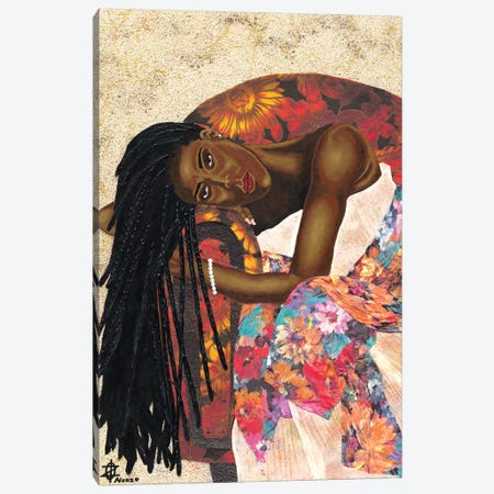 Woman Strong III Canvas Print #LON139} by Alonzo Saunders Canvas Art