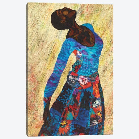 Woman Strong IV Canvas Print #LON140} by Alonzo Saunders Canvas Print
