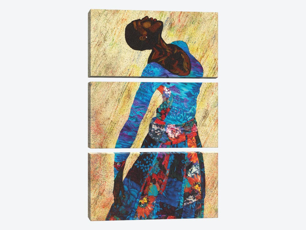 Woman Strong IV by Alonzo Saunders 3-piece Canvas Art