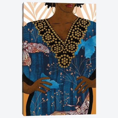 Her Style I Canvas Print #LON162} by Alonzo Saunders Canvas Print