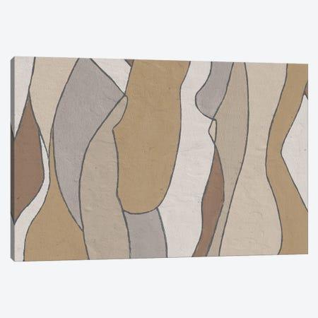 Neutral Hidden Figures I Canvas Print #LON175} by Alonzo Saunders Canvas Print