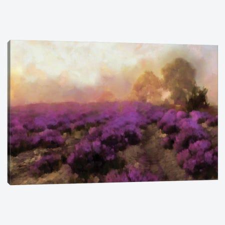 Purple Countryside I Canvas Print #LON181} by Alonzo Saunders Canvas Art Print