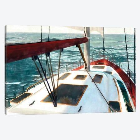 Sailing the Seas I Canvas Print #LON183} by Alonzo Saunders Canvas Art Print