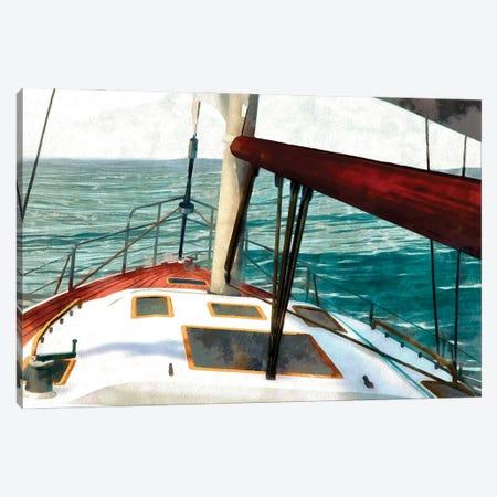Sailing the Seas II Canvas Print #LON184} by Alonzo Saunders Canvas Artwork