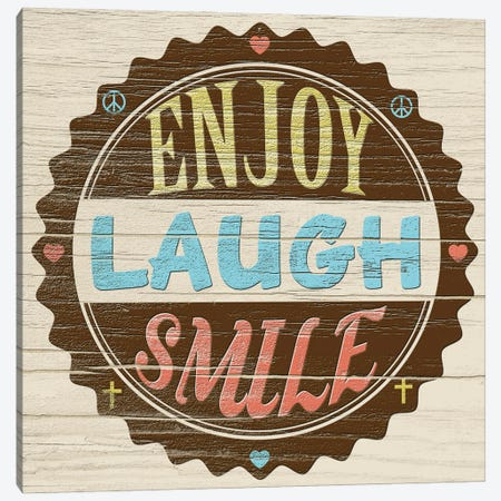 Seal Of Laughter Canvas Print #LON188} by Alonzo Saunders Canvas Print
