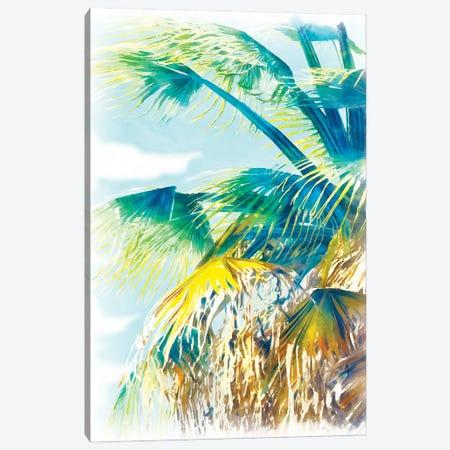 Tropical Glow II Canvas Print #LON198} by Alonzo Saunders Canvas Wall Art