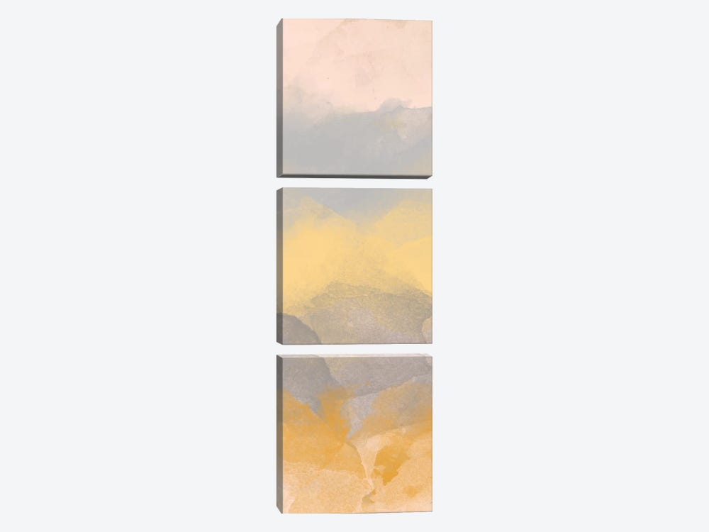 Color Fall II by Alonzo Saunders 3-piece Canvas Wall Art
