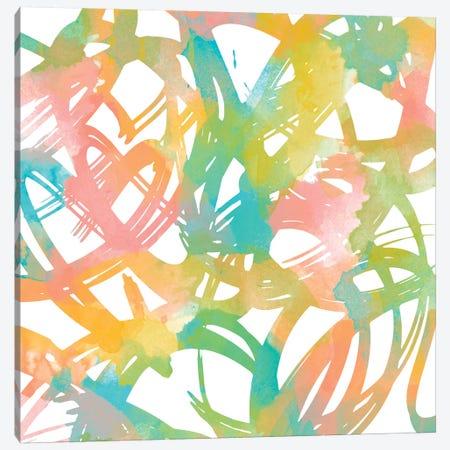 Colorful Flow I Canvas Print #LON21} by Alonzo Saunders Canvas Art