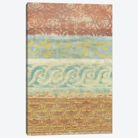 Decorative Patterns I Canvas Print #LON31} by Alonzo Saunders Art Print