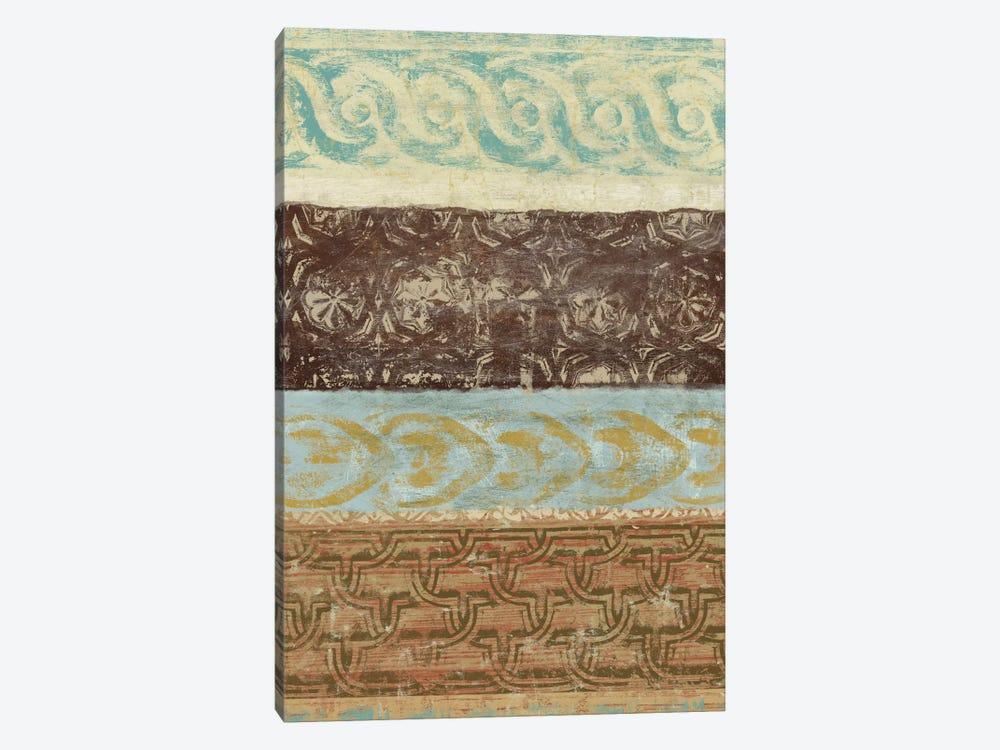 Decorative Patterns IV by Alonzo Saunders 1-piece Canvas Art Print