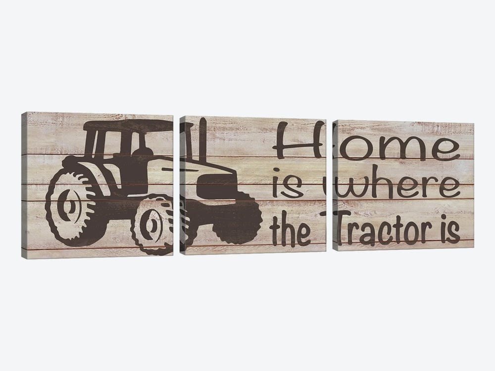 Home & Farm IV by Alonzo Saunders 3-piece Canvas Wall Art