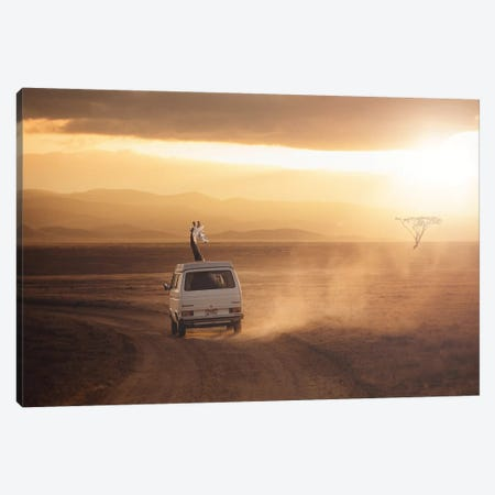 Adventure Is Calling Canvas Print #LOO1} by Jonas Loose Canvas Print