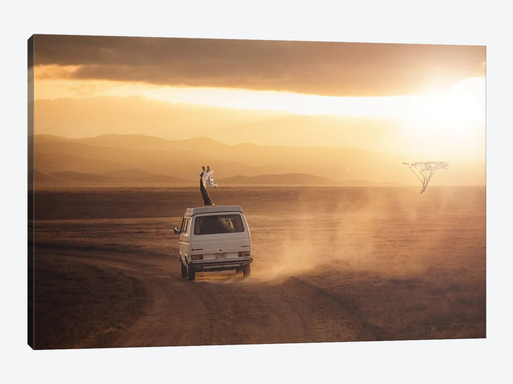 Adventure Is Calling by Jonas Loose 1-piece Canvas Artwork