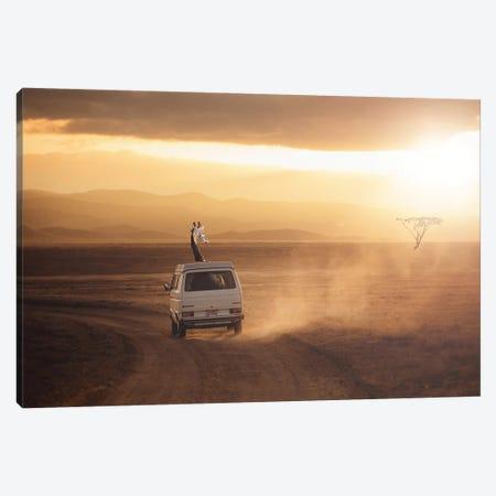 Adventure Is Calling Canvas Print #LOO1} by Jonas Loose Canvas Print