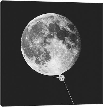 Moonballoon Canvas Art Print