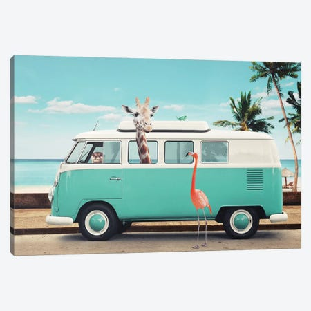 On The Road Canvas Print #LOO27} by Jonas Loose Canvas Wall Art