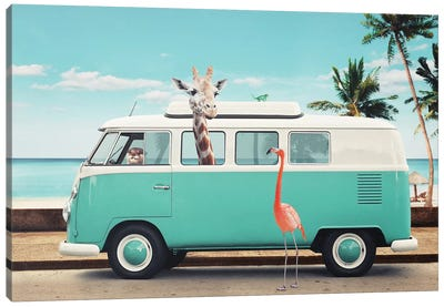 On The Road Canvas Art Print