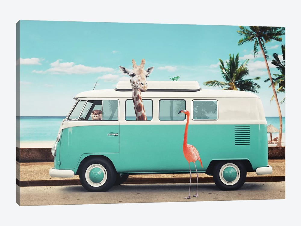 On The Road by Jonas Loose 1-piece Canvas Art