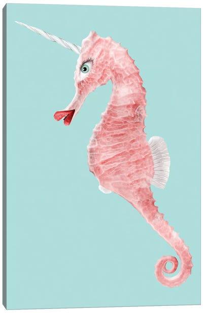 Seaunicorn Canvas Art Print