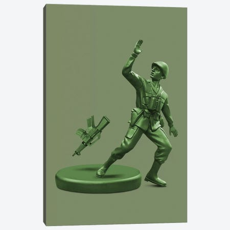 Toy Soldier Canvas Print #LOO48} by Jonas Loose Canvas Art Print