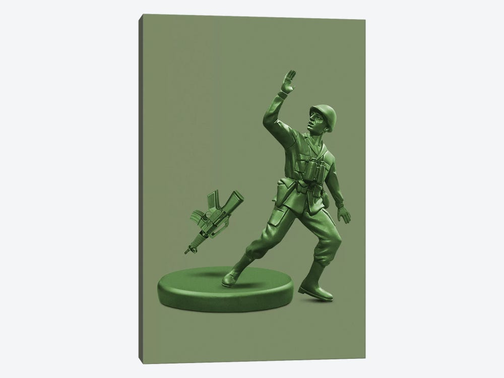 Toy Soldier by Jonas Loose 1-piece Canvas Art Print