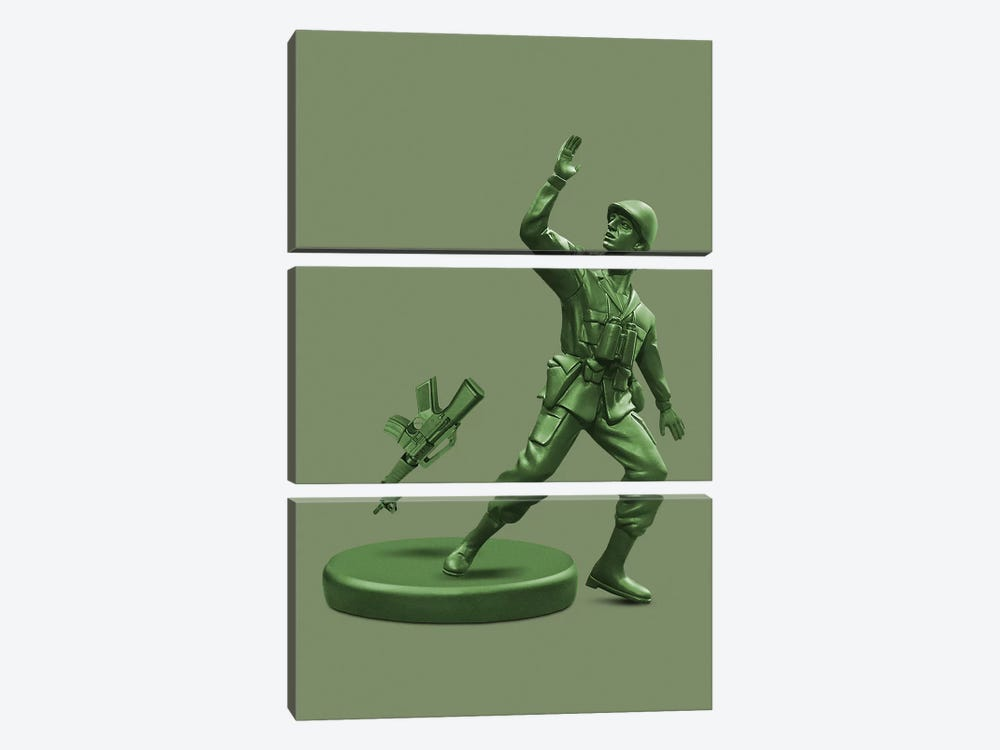Toy Soldier by Jonas Loose 3-piece Canvas Print