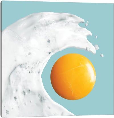 Egg Wave Canvas Art Print