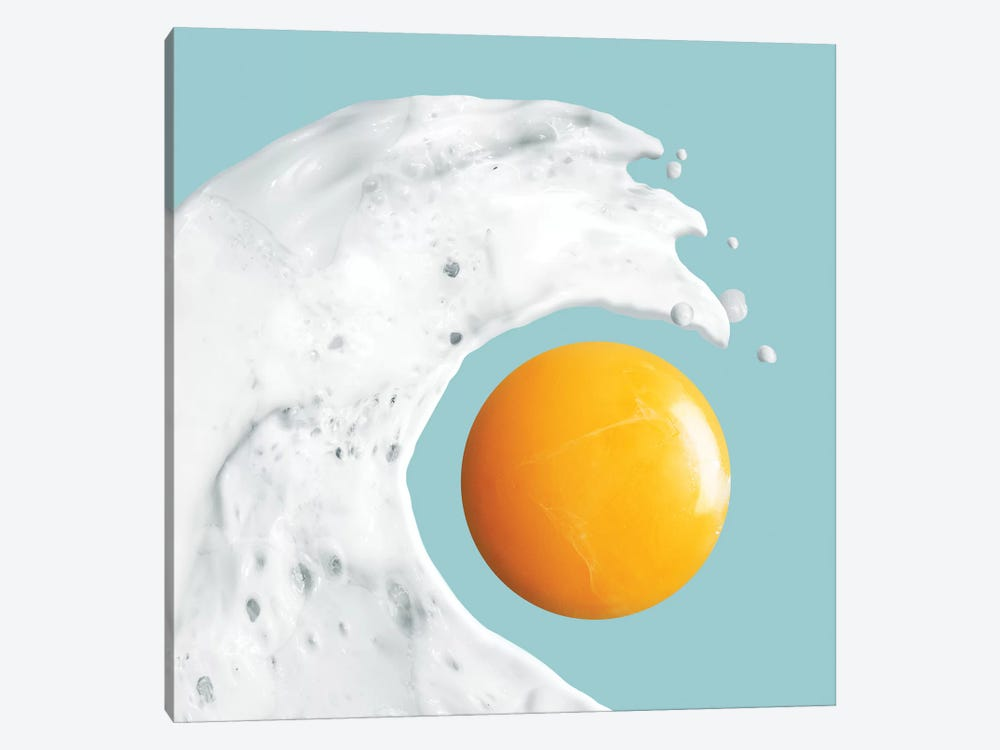 Egg Wave by Jonas Loose 1-piece Canvas Print