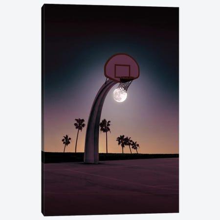 Basketmoon Canvas Print #LOO55} by Jonas Loose Art Print