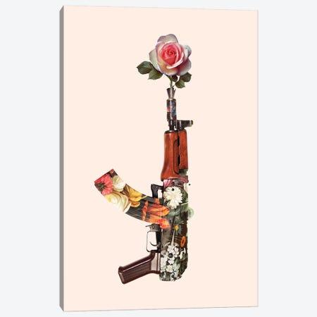 Flower Gun Canvas Print #LOO66} by Jonas Loose Canvas Wall Art