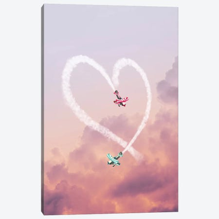 Love Is In The Air Canvas Print #LOO71} by Jonas Loose Canvas Wall Art