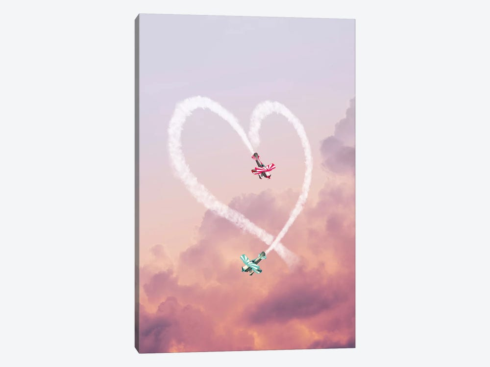 Love Is In The Air by Jonas Loose 1-piece Canvas Print