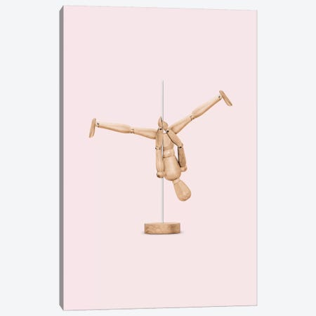 Poledance Mannequin 3-Piece Canvas #LOO75} by Jonas Loose Canvas Art Print