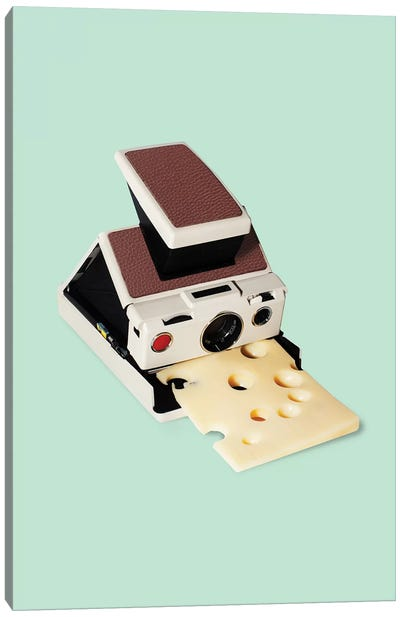 Say Cheese Canvas Art Print