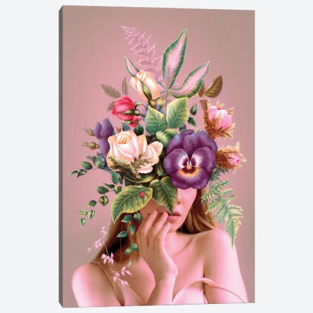 Love in Bloom Canvas Print #LOO94} by Jonas Loose Canvas Print