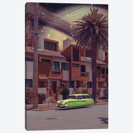 Space Village Canvas Print #LOO96} by Jonas Loose Canvas Print
