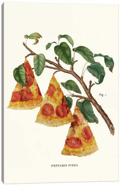 Pizza Plant Canvas Art Print