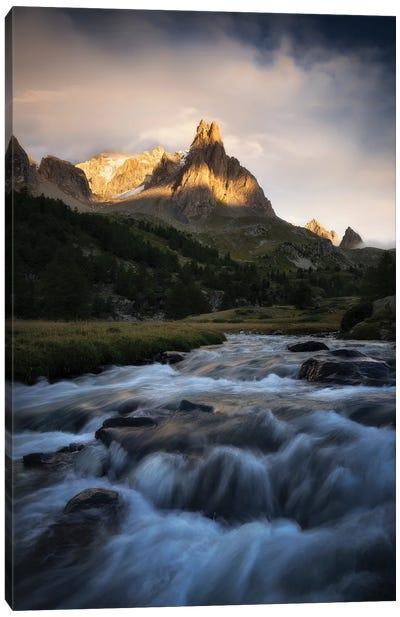 The Everlasting Stream Canvas Art Print